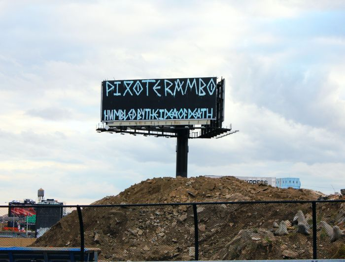 Billboard, Bronx, Humbled by the Idea of Death, www.thenextstoponthistrain.com
