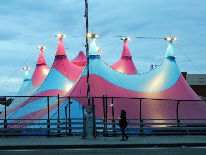 Circus Tent, Mott Haven, The Bronx, New York City. www.thenextstoponthistrain.com