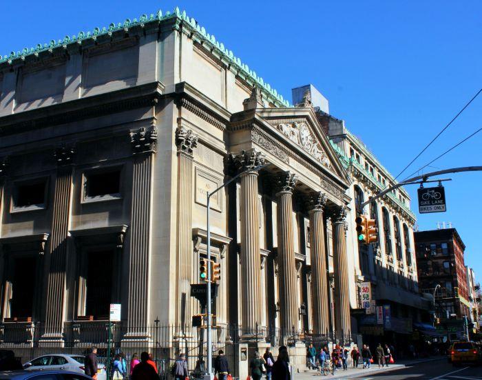 The Bowery Savings Bank, Chinatown New York City, Manhattan, www.thenextstoponthistrain.com